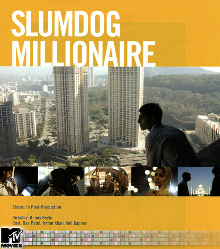 slumdog millionaire Slumdog millionaire is a 2008 british drama film directed by danny boyle, written by simon beaufoy, and produced by christian colson set and filmed in india.