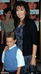 Michael Blosil and his mom Marie Osmond